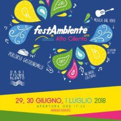 La seconda edizione di FestAmbiente  Alto Cilento ha il sapore dell'acqua.
