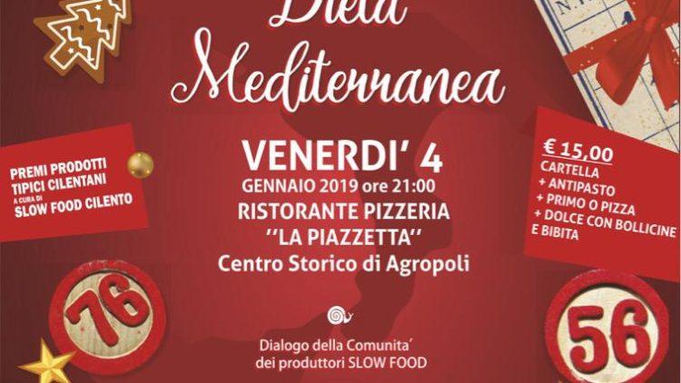 Ad Agropoli la prima tombolata della Dieta Mediterranea.